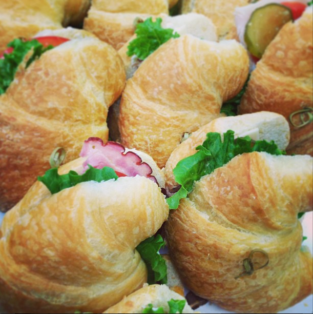 Croissant sandwiches prepared by LeCroissant Catering & Events for National Croissant Day Join us in Celebrating National Croissant Day! Join us in Celebrating National Croissant Day! Screen shot 2015 01 29 at 11