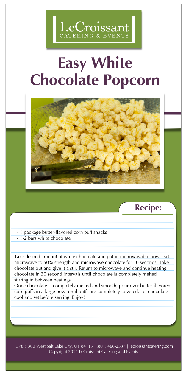 Easy white chocolate popcorn recipe to celebrate national popcorn day Celebrate National Popcorn Day with Easy White Chocolate Popcorn Celebrate National Popcorn Day with Easy White Chocolate Popcorn whitechocopop