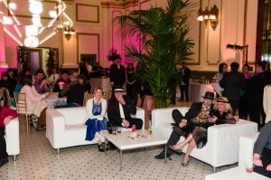 1920s guests at Great Gatsby themed corporate event catered and coordinated by LeCroissant Catering & Events. Held at Salt Lake's Grand Hall at The Gateway National Crepe Day with LeCroissant Catering & Events National Crepe Day with LeCroissant Catering & Events 16186393248 f13891d402 k