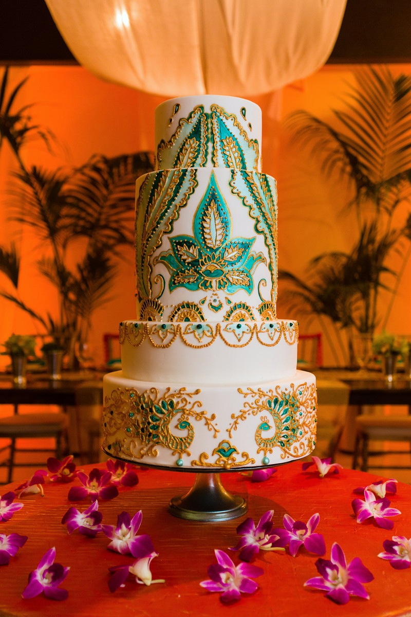 Indian Inspired wedding cake with detailed henna designs by wedding cake designer Kristen Cold Welcome our New In-House Wedding Cake Designer: Kristen Cold Welcome our New In-House Wedding Cake Designer: Kristen Cold 14897958641 0226f44261 o