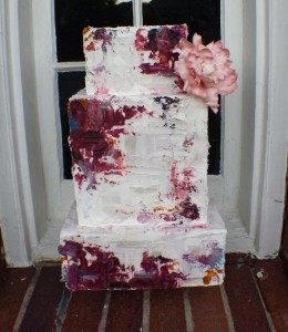 Art inspired wedding cake by wedding cake designer Kristen Cold Welcome our New In-House Wedding Cake Designer: Kristen Cold Welcome our New In-House Wedding Cake Designer: Kristen Cold 20130921 071257