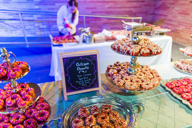Artisan Donuts featured at LeCroissant Catering and Event's Donut action station!  National Donut Day National Donut Day 15722924103 4576e140c2 z