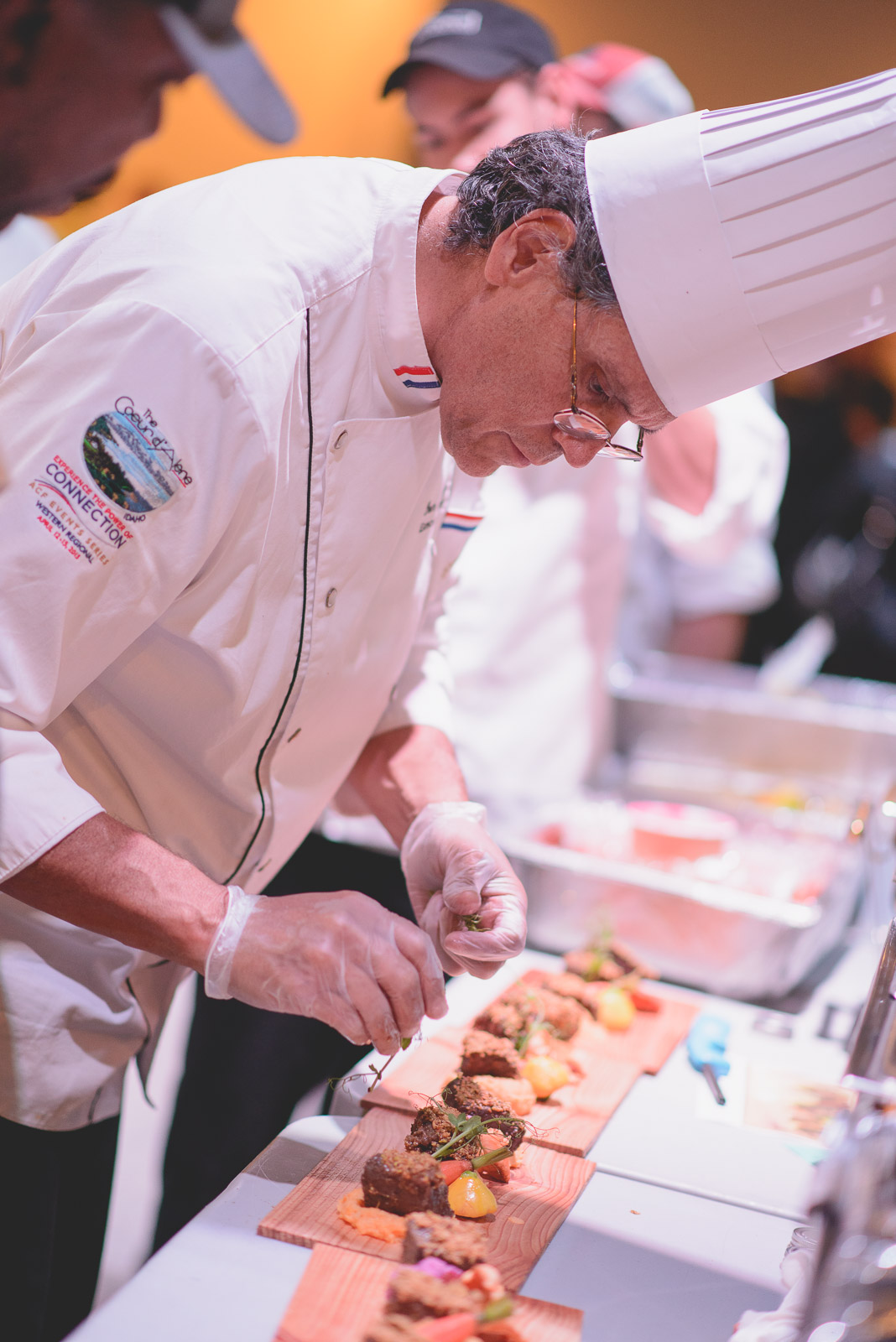Chef Don Sanchez orchestrating the back of house line at an event in October. Catered and Coordinated by LeCroissant Catering & Events Welcome our New Executive Chef at LeCroissant! Welcome our New Executive Chef at LeCroissant! 141
