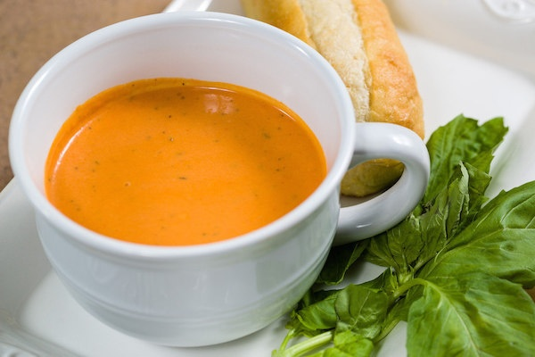 Homemade Soup Day Creamy Tomato Soup Recipe From Lecroissant Catering