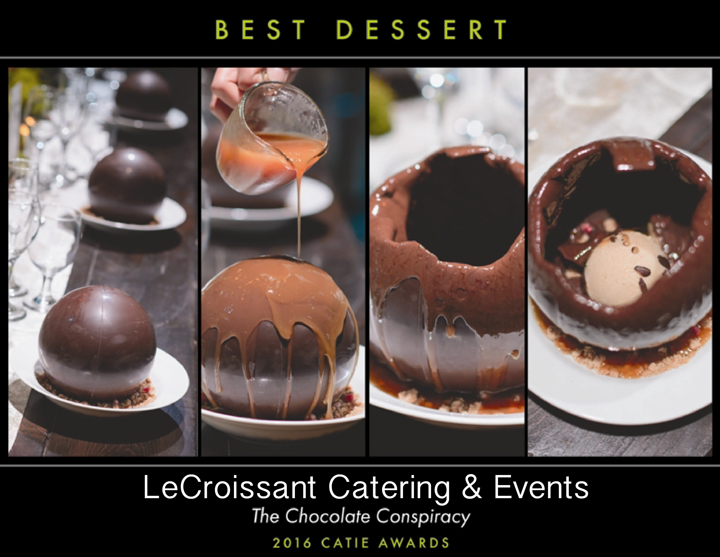 Lux Catering and Events, Utah's premier award winning caterer, winner of the 2016 CATIE for Best Dessert award winning caterer Lux Catering and Events is an award winning caterer! bestdessertCATIE