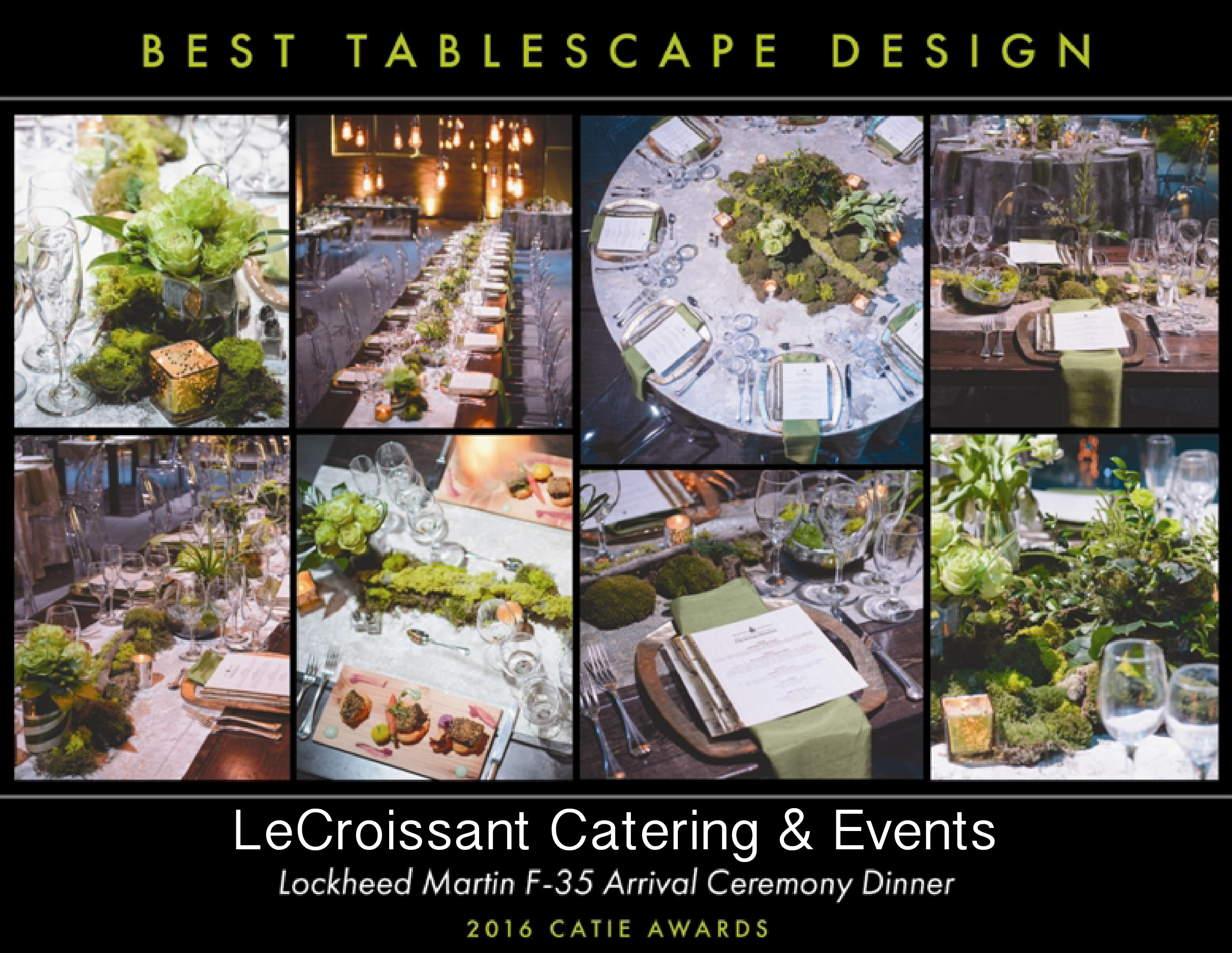 Lux Catering and Events, Utah's Premier award winning caterer. Winner of the 2016 CATIE for Best tablescape design award winning caterer Lux Catering and Events is an award winning caterer! besttablescapeCATIE