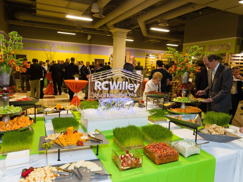 RC Willey Orem Grand Opening - Lux Catering and Events and Events