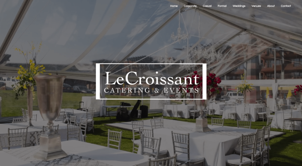 Lux Catering and Events is an award-winning company with a new website catering and events Lux Catering and Events new website: our favorites! Screen Shot 2016 06 13 at 4