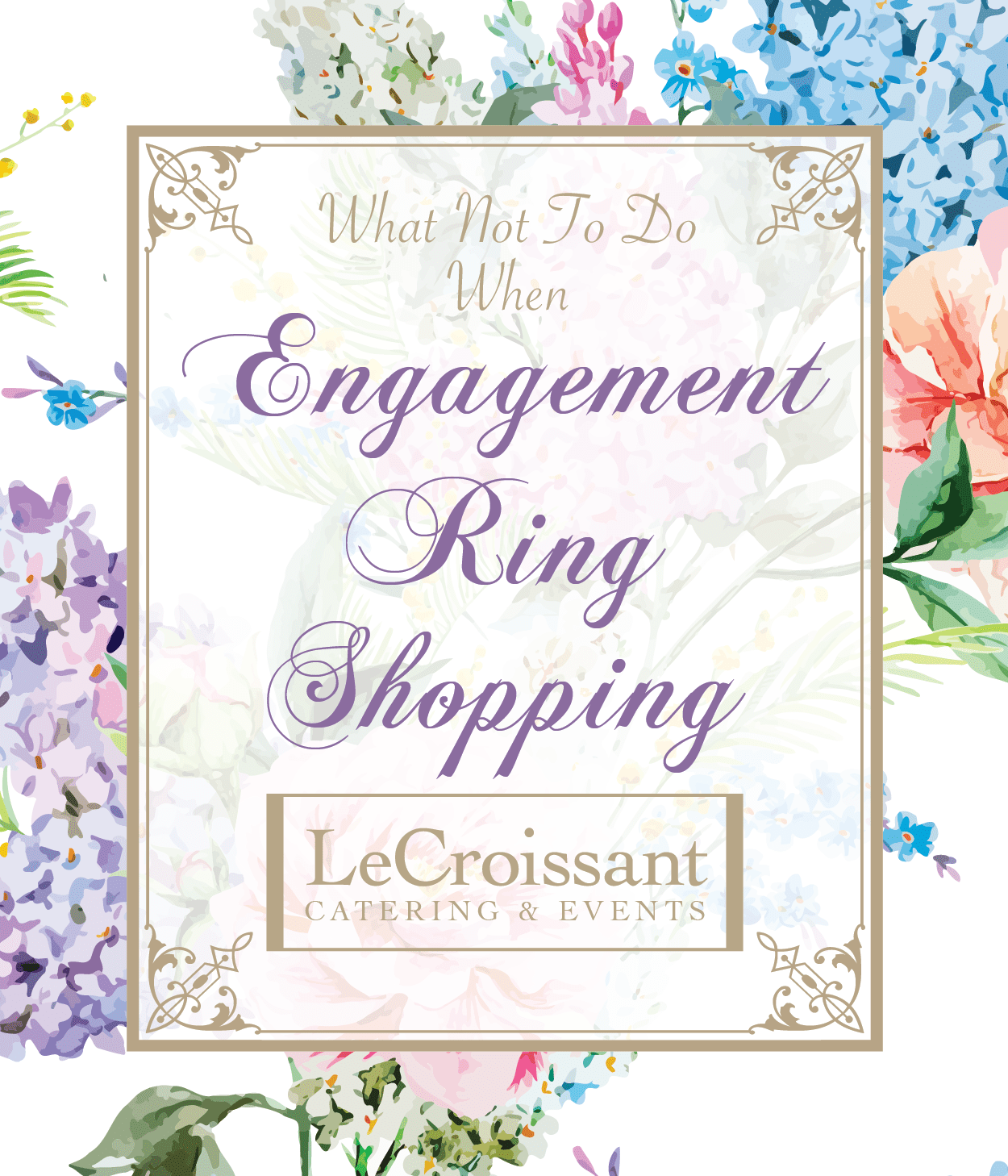 Engagement ring shopping advice from the groom. With Lux Catering and Events - Utah's premier wedding planners and caterers engagement ring shopping What Not To Do When Engagement Ring Shopping wj engagementring 01