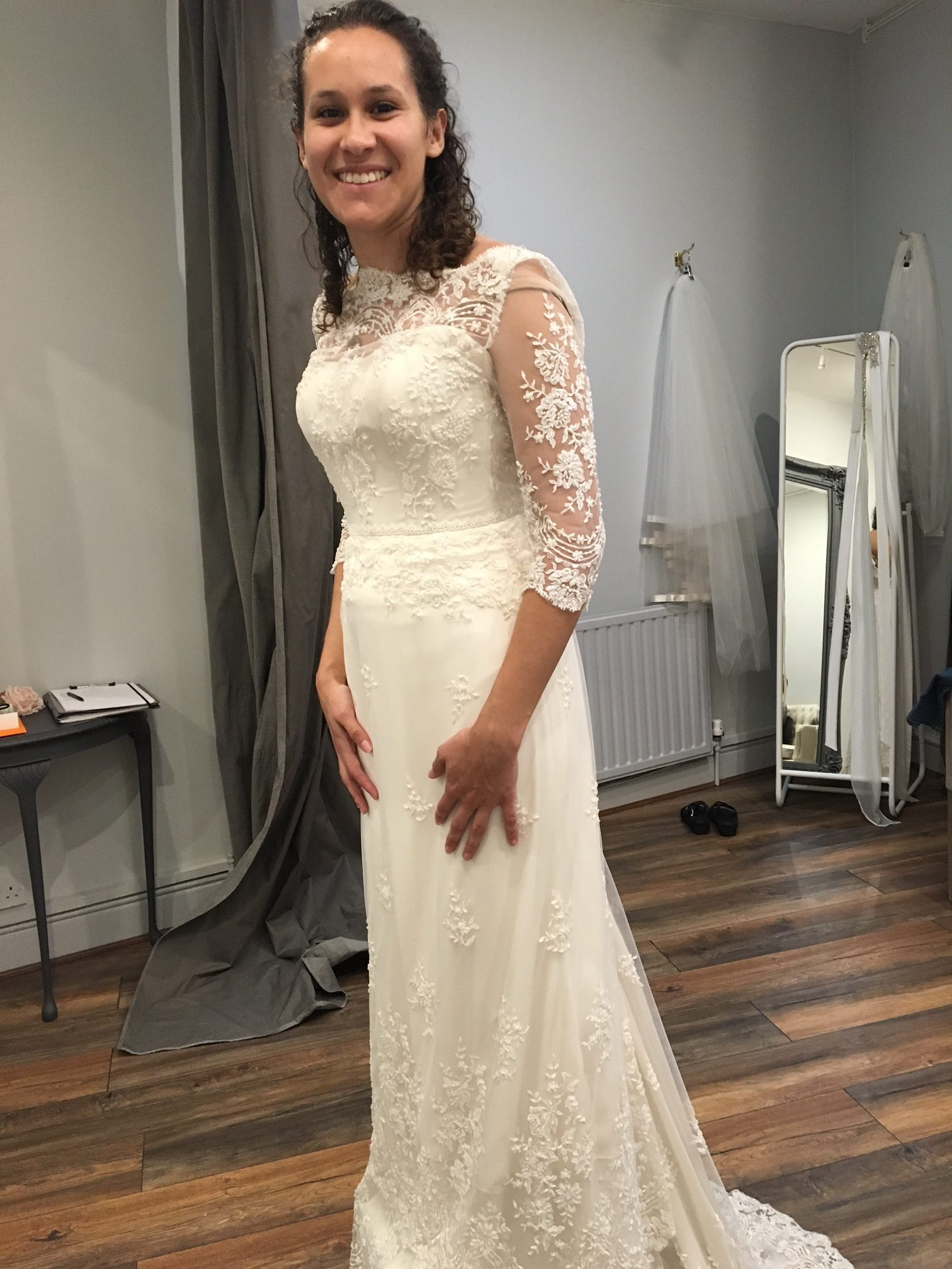Wedding dress shopping advice from a bride who's been there wedding dress shopping advice Wedding Dress Shopping Advice IMG 6108 e1479344091617