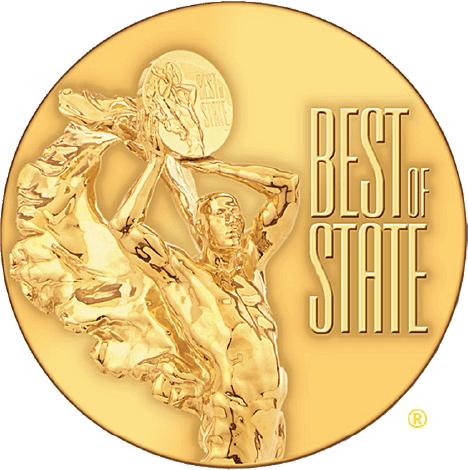 Utah Award Winning Catering LUX Catering & Events - Best of State Utah Award Winning Catering Medal  300dpi